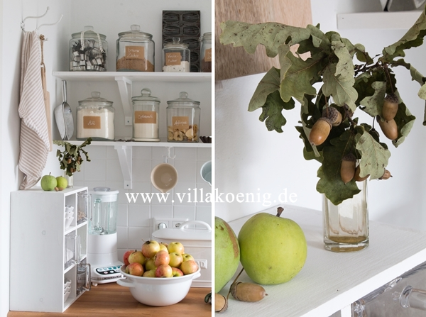 Küche im Oktober