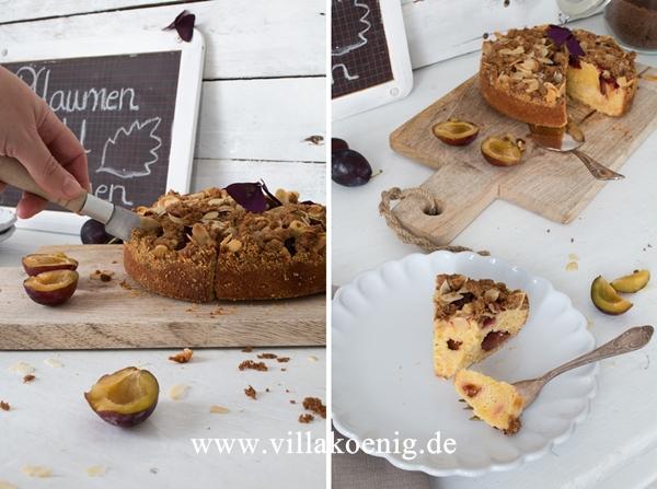 Pflaumen-Mandel-Kuchen