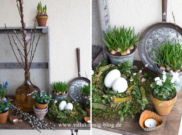 Frühling auf der Terrasse