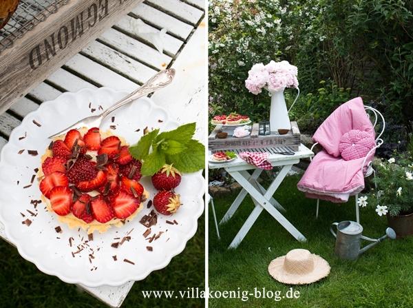 Villa Koenig Erdbeertörtchen