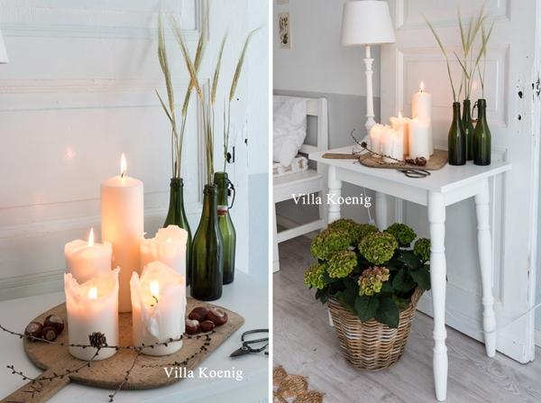 Herbstliches wohnzimmer autumn in the livingroom villa for Zimmer deko herbst